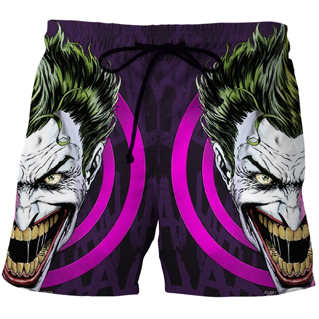 Cloudstyle2018 Beach Short homme 3D Printing Anime Dragon Ball Shorts S-5XL colorful swimwear men shorts dragon ball boardshorts