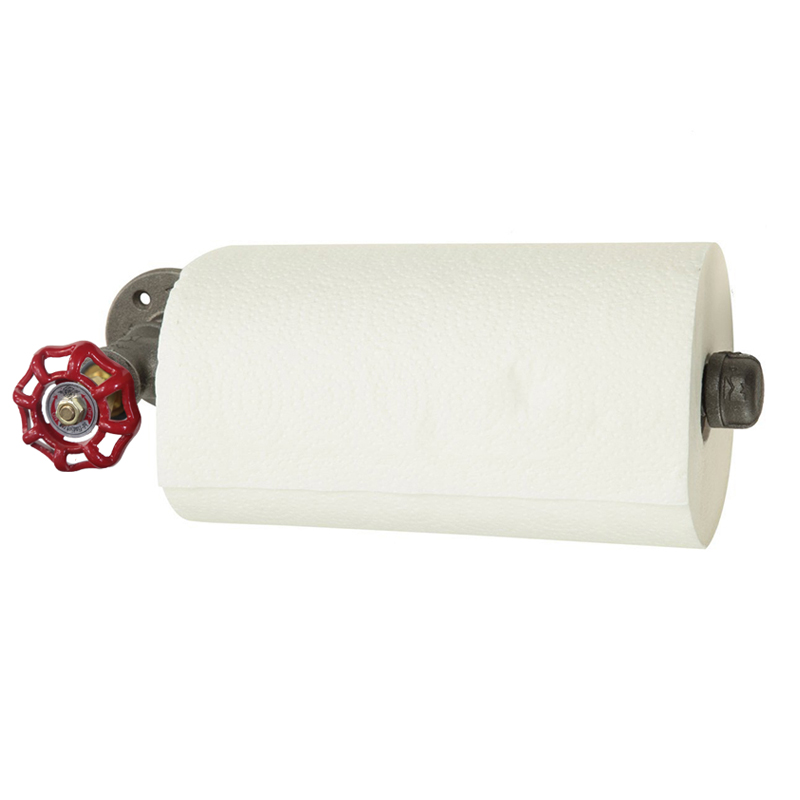 1PC Tandas / Pemegang Kertas WC Ketibaan Baru Paip Perindustrian - Organisasi dan penyimpanan di dalam rumah - Foto 2