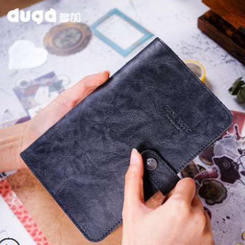 2018 Yiwi Duga A6 New Arrive Original Soft Faux Leather Spiral Binder Hardcover Organizer Planner Cover