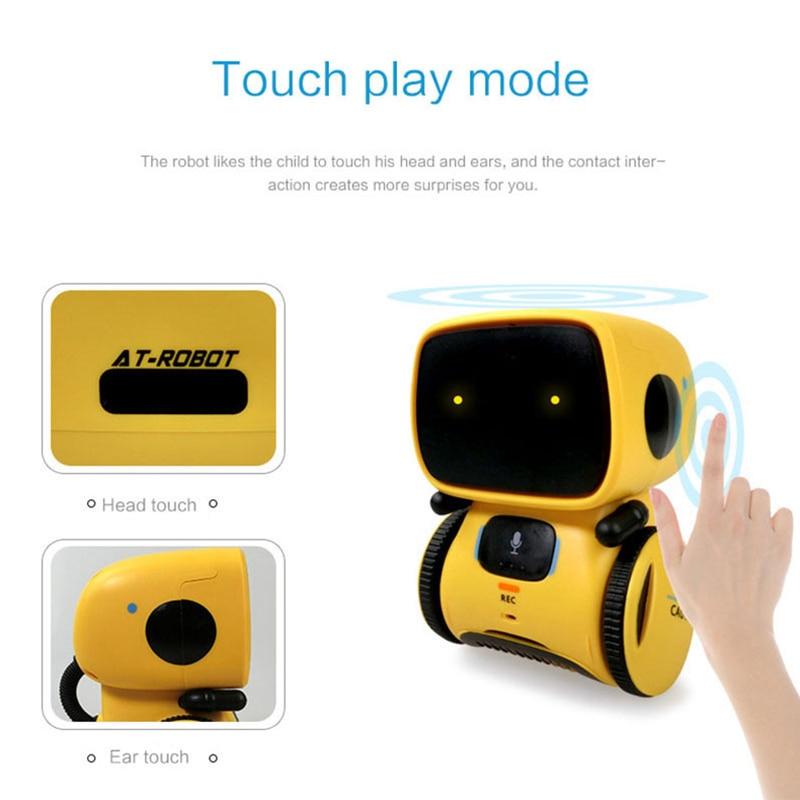 brinquedos robo interativo bonito brinquedo presentes para criancas 03