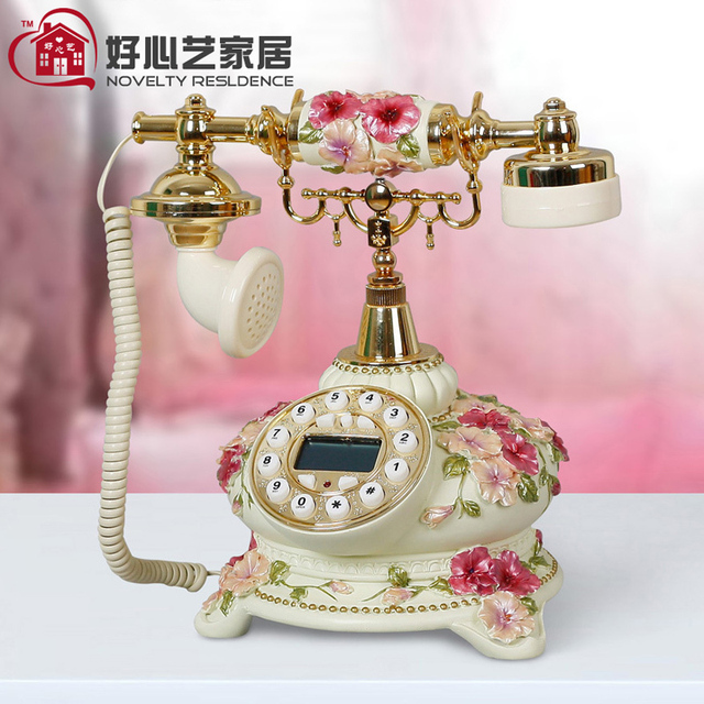 Free shipping Antique telephone landline telephone fashion phone