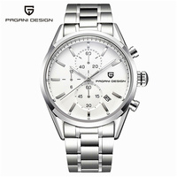 Reloj Hombre Top Brand Luxury Pagani Dive 30m Casual Quartz Watches Men Leather Stainless Steel Sport
