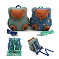 3D Cartoon Bear Baby Toddler Anti lost Backpack Leash Infant Harness Backpack Strap Walker Kindergarten Schoolbag for Teenage
