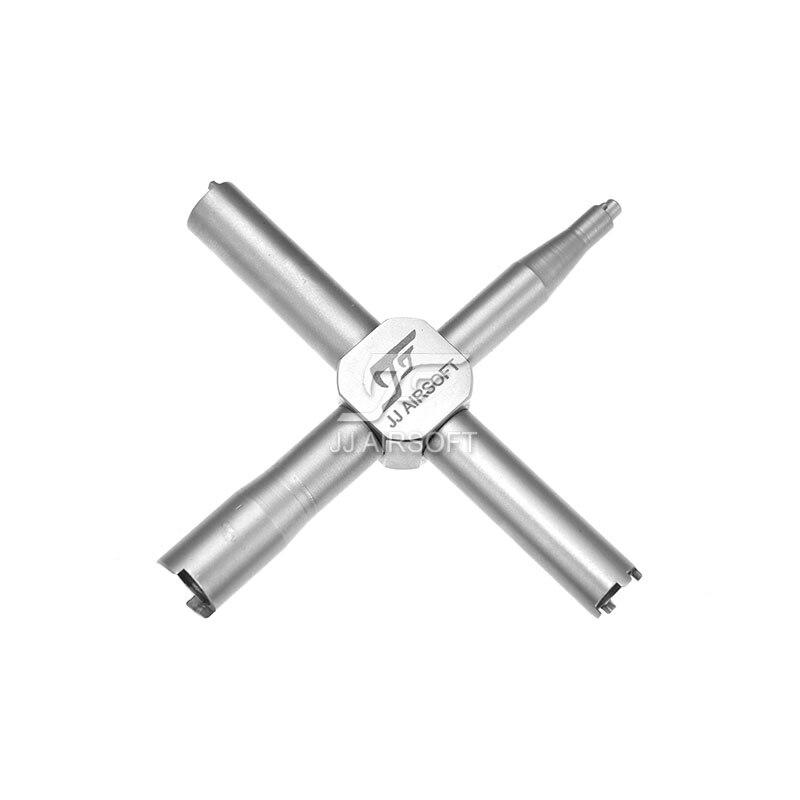 JJ Airsoft Универсальный Клапан ключ с AR15 инструмента Нержавеющаясталь версия ...