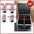 4 шт./лот  с футляром для полета  светодиодный мини-светильник для мытья головы  мини-светодиод rgbw  движущийся головной свет 7x12 Вт 4в1  отлично ...