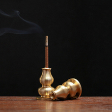 Alloy Copper Incense Holder Can Be Fixed Incense Sticks And Coil Portable Incense Burner Censer High Incense Plug 1PC