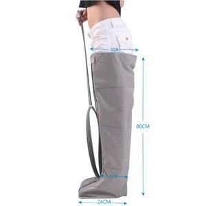 Image 4 - 電動エアー圧縮マッサージレッグラップ足の足首ふくらはぎのマッサージ機痛み疲労緩和血液循環を促進