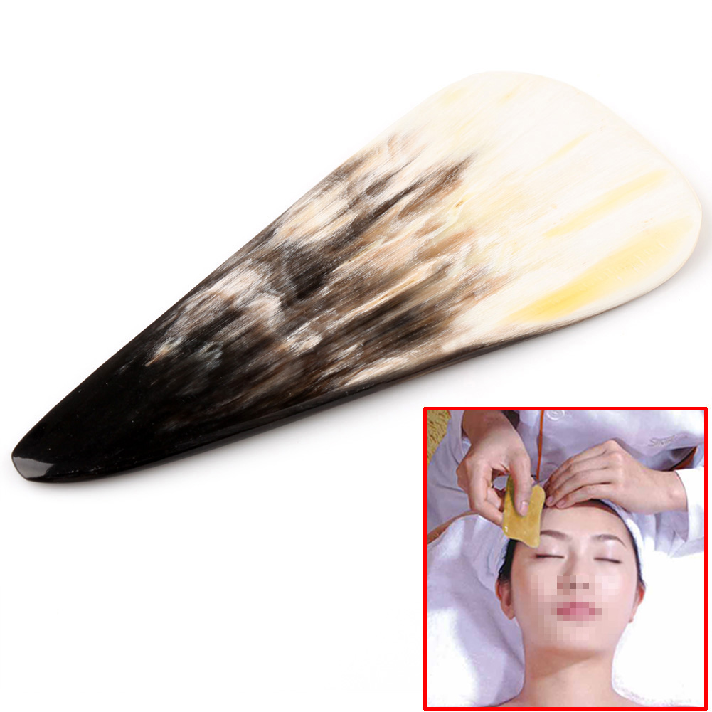Guasha Massage Scraping Tool Gua Sha Acupuncture Natural Buffalo Horn Random gua sha guasha skin massage chinese