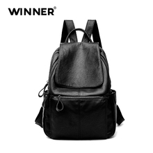 Дизайнер Для женщин Рюкзаки Пояса из натуральной кожи женский рюкзак Для женщин школьная сумка для Обувь для девочек большой Ёмкость плеча Путешествия Mochila