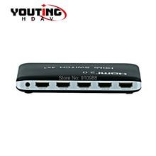 ФОТО YOUTING  HDMI 20v Switcher 4x1 4K60hz UHD HDCP22 4 ports hdmi switch