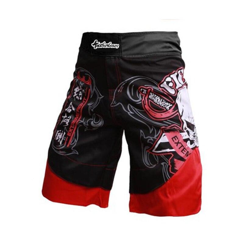 7ce646ba3 Cheap Pantalones cortos de boxeo con estampado de calavera pantalones  cortos de combate sin MMA,