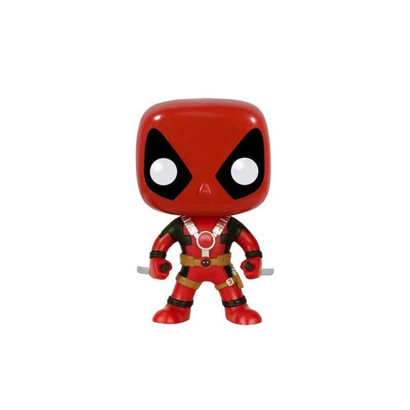 Funko POP Marvel Mainan Deadpool Brinquedos Action Figure Collectible Model Mainan untuk Hadiah Ulang Tahun Anak-anak
