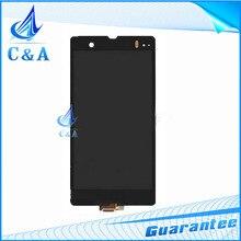Teléfono móvil lcd para sony xperia z l36h lt36 c6603 pantalla pantalla táctil digitalizador con reemplazo de reparación de piezas de 1 unidades