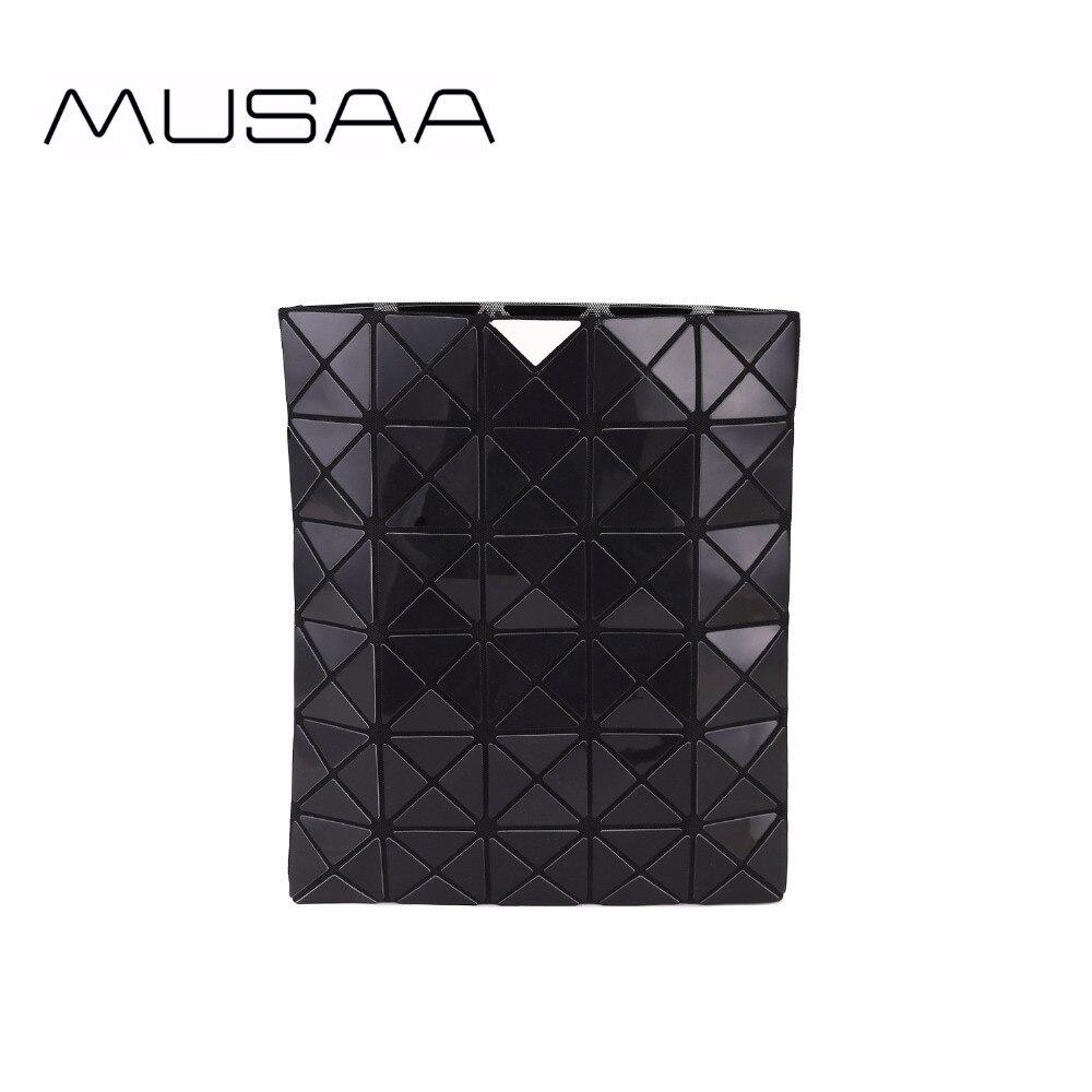 MUSAA Noir Diamant Pliage sacs d'embrayage pour Fille Personnalité Mode Rafraîchissant Femelle Femmes PU sac en cuir Nouvelle Collection