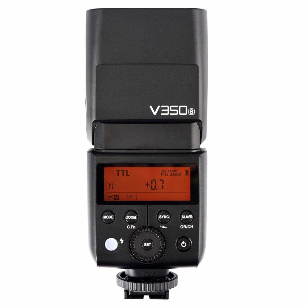 Godox V350S haute vitesse synchrone 1/8000s 2.4G Wireles batterie au lithium flash pour sony a7r3 a7r2 a7m2 a6500 RX10 caméras