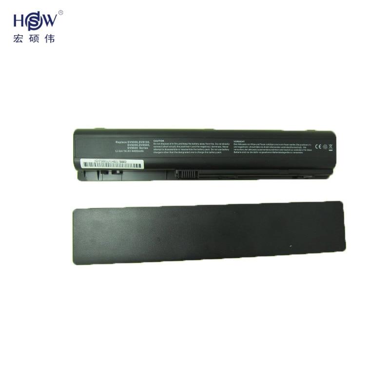 HSW 14.8v 5200MAH laptop battery for HP Pavilion DV9000 DV9100 DV9200 DV9500 bateria akku