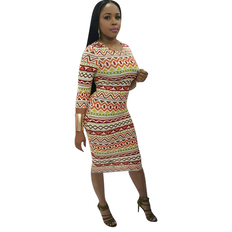 2019 African Clothes Dashiki Traditional Clothes Printed Dress Women Clothing Long Dress African Dresses For Women