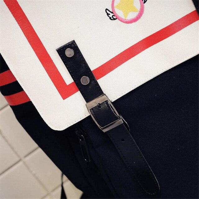 Аниме рюкзак Сакура собирательница карт 3