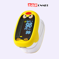 Professional OLED Pediatric Pulse oximeter for Child Kids 1 12 years old SPO2 Blood Oxygen Monitor with Rechargeable Battery
