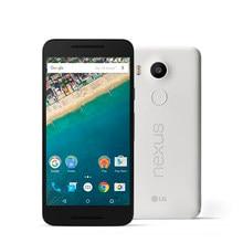 Odnowiony oryginalny odblokowany LG Nexus 5X H791 5.2 cal 2GB pamięci RAM, 16GB/32GBROM rozpoznawanie linii papilarnych odnowiony telefon