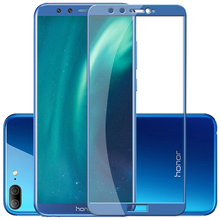 Tempered Glass for Huawei Honor 9 lite Safety 2.5D Edge Full Coverage Screen Protective Glass for Huawei Honor 9 lite Covers цена