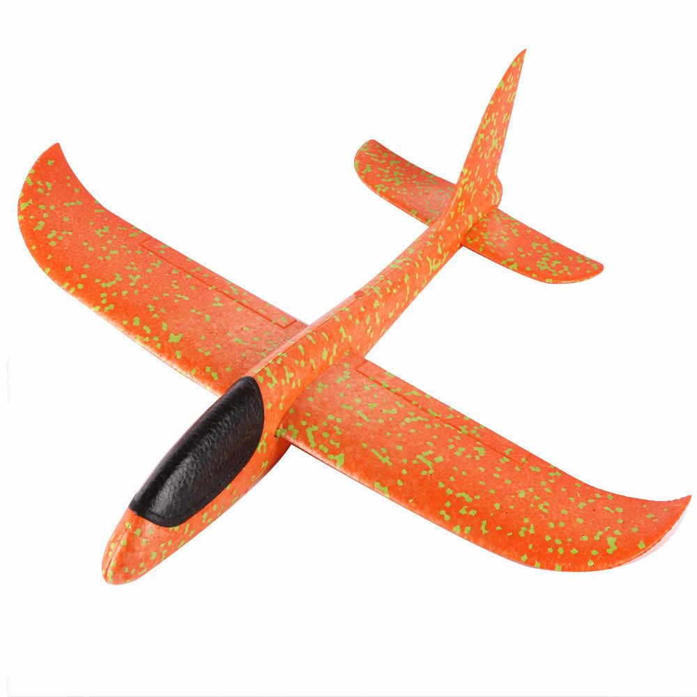 Diy Пена метания планерный самолет инерция самолет дети игрушки ручной запуск игрушечные модели самолетов для детей Детские игрушки
