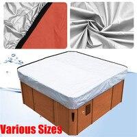 37 размеры Универсальный Ванна крышка всепогодный крышка Spa Кепки Cubierta протектора джакузи, Spa Cubrir Cubierta Погода охранник