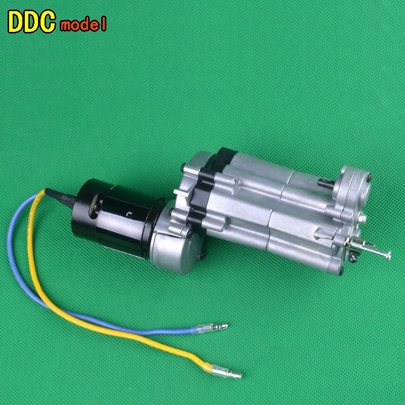 Wild boar HG P407 Gearbox Assembly 3 Speed Medium Transmission Gear Box with Shift Lever for