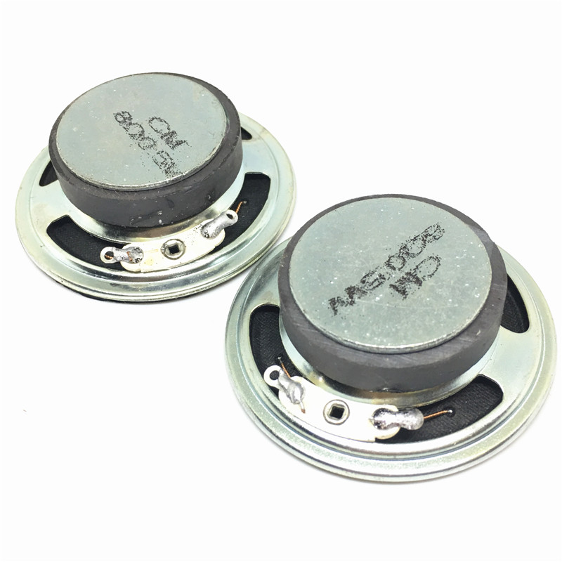 Passive Components 2pcs New Ultra-thin Speaker Doorbell Horn Toy-car Horn 16 Ohms 0.5 Watt 0.5w 16r Speaker Diameter 57mm 5.7cm Thickness 10mm Bright In Colour Electronic Components & Supplies