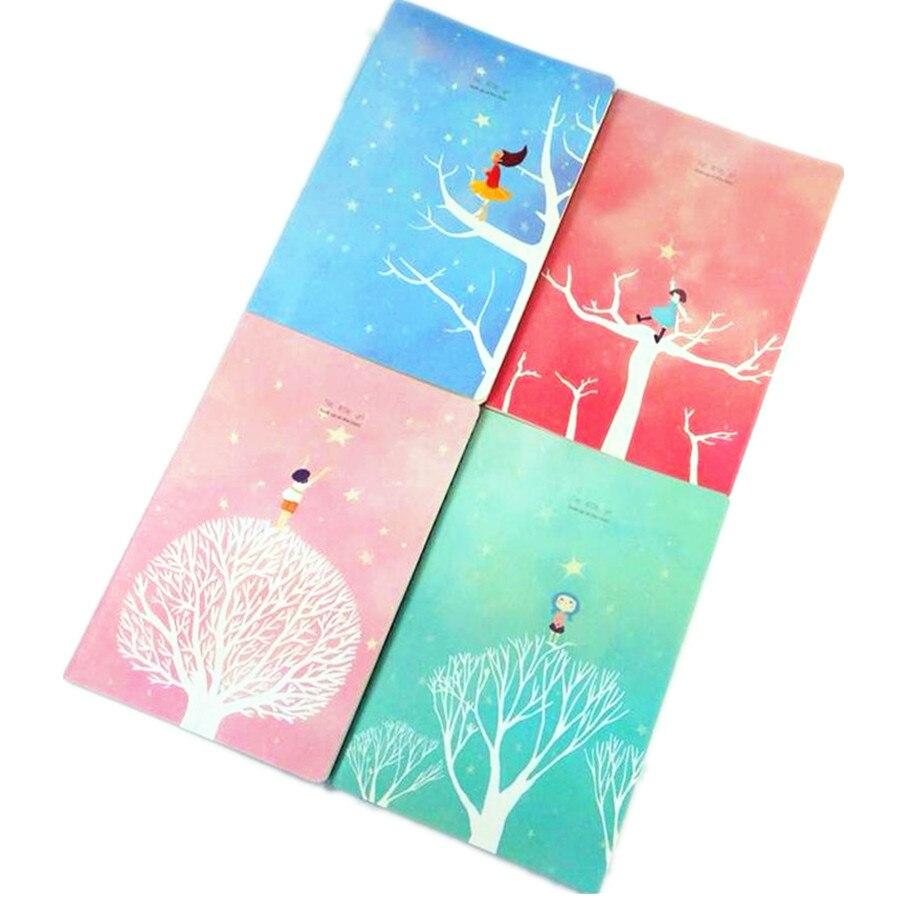 6 шт./лот сказка свежий звезда для девочек серии DIY дневник милые Тетрадь школьные принадлежности подарок