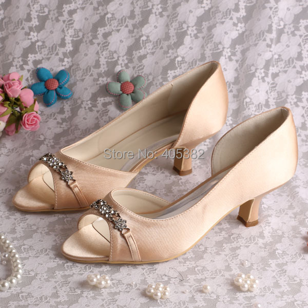 Popular Champagne Shoes Low Heel-Buy Cheap Champagne Shoes Low