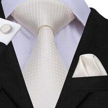 e6c9bbca27aa Hi-Tie Luxury Silk Ties for Men Brand Designer Classic Business Party  Wedding Tie Set