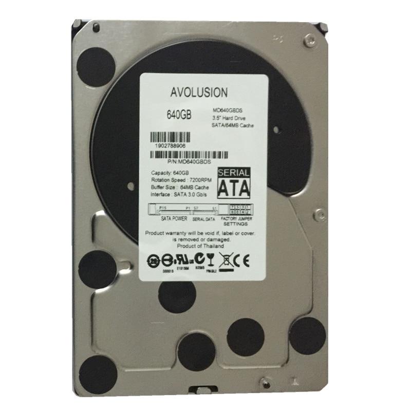 640GB SATA 3.5inch 5400RPM 64MB Cache Garantía de disco duro de CCTV - Componentes informáticos - foto 2