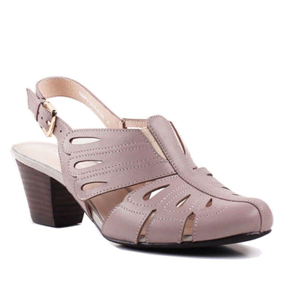 9465102c326b Bacia Sheep skin Sandals Concise Handmade Quality Shoes 6cm High Spike Heels  Women Size Size 35