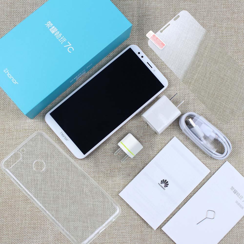 Купить 8,0 Huawei Honor 7C Android Global ROM 13MP + 2MP двойной Rea