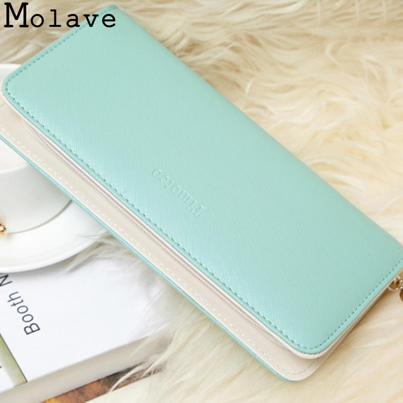 Lady Women Clutch Long Purse Wallet Card Holder Handbag Bag Zipper Zero Wallet Hign Quality ChangKuan cartera June0623
