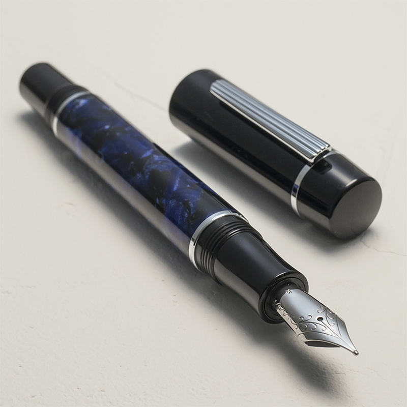 Image 4 - Wancher High quality Fountain pen Stainless Steel 0.5mm fine-in Fountain Pens from Office & School Supplies