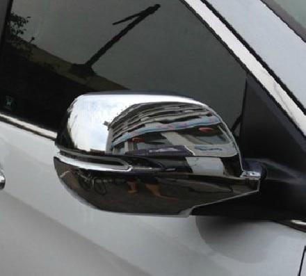 Étoile supérieure ABS chrome 2 pièces couverture de miroir de porte latérale pour Honda CRV 2012-2017