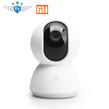 English Version Xiaomi Mijia Smart Camera Cradle Head 1080P Camcorder 360 Angle Vision Webcam IP Cam WIFI Wireless App Control(China)