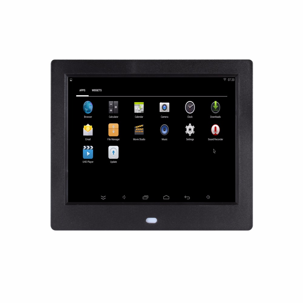 Buy 8 inch WIFI android operation system Ram 512MB Rom 8G memory digital photo frame 8 inch digital album electronic album 4X3 for only 76.39 USD
