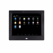 8 inch WIFI android operation system Ram 512MB Rom 8G memory digital photo frame album electronic 4X3