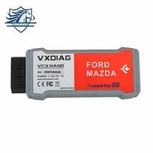Venta caliente de Alta Calidad VXDIAG VCX NANO para Ford/Mazda 2 en 1 con V100 reemplazo Perfecto para Ford VCM IDS 2 Actualización Gratuita por CD