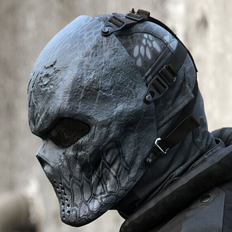 Skull-Mask Wargame Prank Halloween Gift Face Funny Riding Chiefs CS Cosplay Tactical