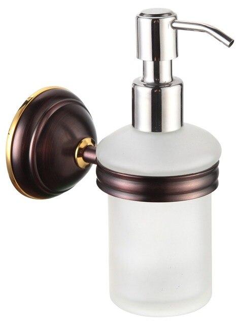 Solid Br Oil Rubbed Bronze Soap Lotion Dispenser Pump Wall Mount Liquid Hand