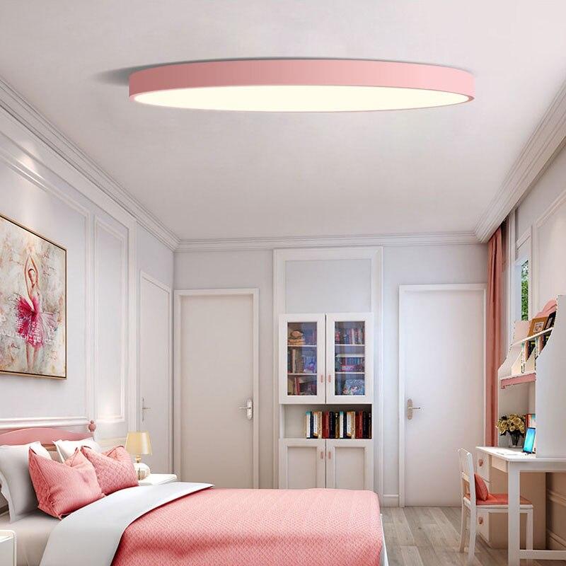 Licht & Beleuchtung Ultradünnen Led-deckenleuchte Dimmbare Einfache Dekoration Leuchten Studie Esszimmer Balkon Schlafzimmer Wohnzimmer Deckenleuchte Deckenleuchten