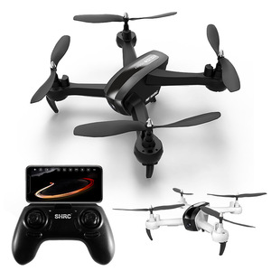 Image 2 - HR aerial photography drone SH7 remote control aircraft intelligent follow gesture photo video four axis aircraft