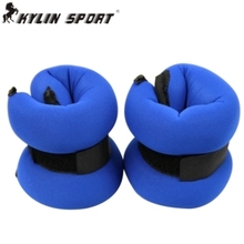A pair of 3kg load sandbags galligaskins adjustable invisible wrist length slimming tessha running Fitness Equipments