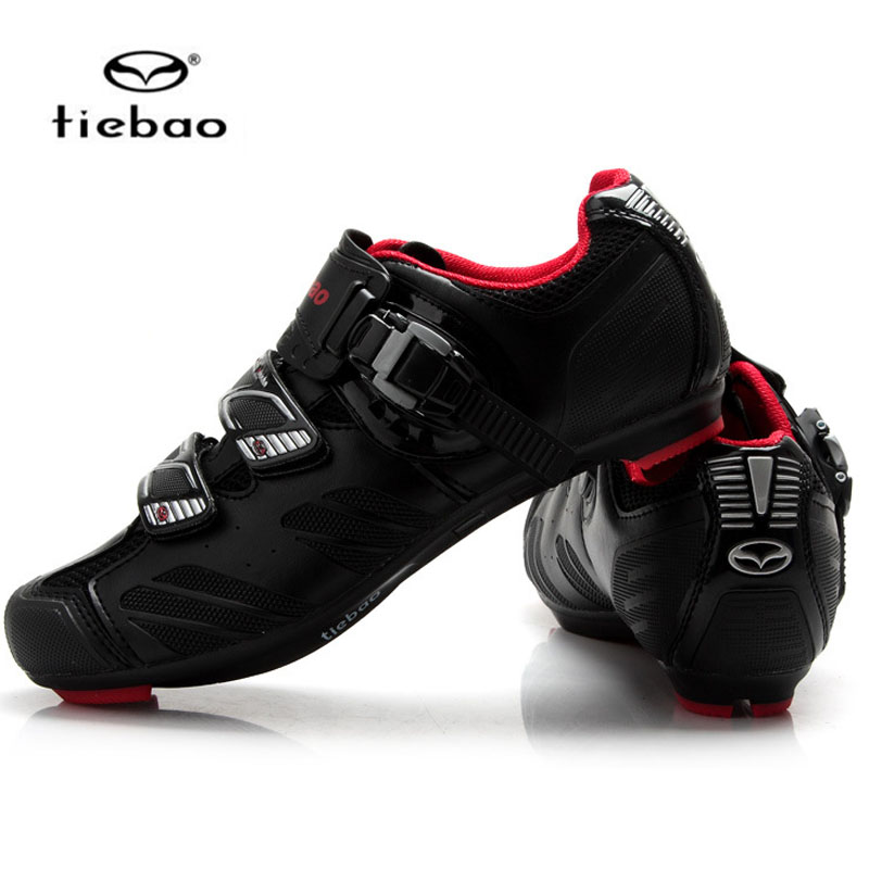 TIEBAO Cycling Cycling Shoes Road Racing Mountain Biking Sport Breathable Athletic MTB Cycling Shoes tiebao tiebao b1285 recreational cycling shoes black green size 42