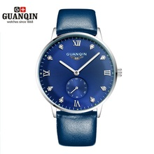 Original GUANQIN Hombres Reloj Mecánico Top Famosa Marca de Relojes Hombres de Negocios de Moda Reloj de Pulsera de Hombre Reloj Relogio masculino reloj