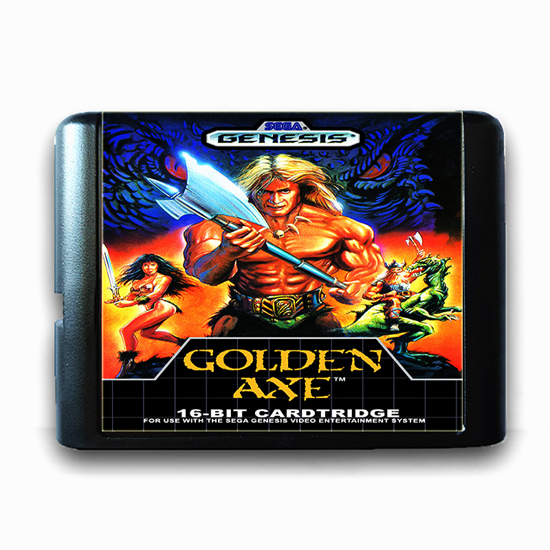Golden Axe for 16 bit Sega MD Game Card for Mega Drive for Genesis Video Game Console PAL USA JAP